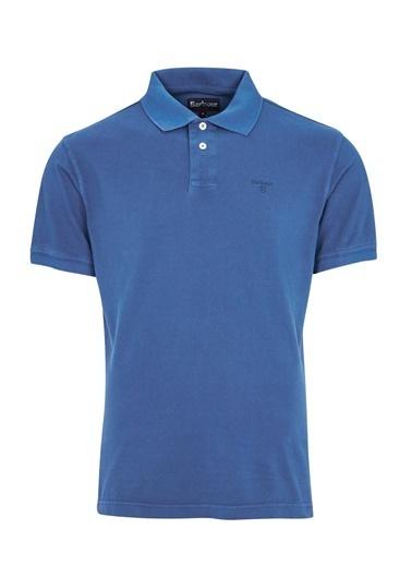 Barbour Washed Sports Polo Yaka Bl97 Marine Blue Mavi